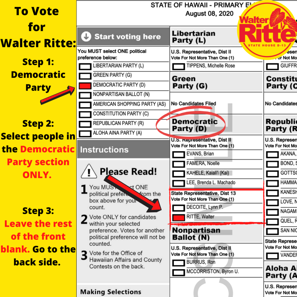 How to vote your ballot